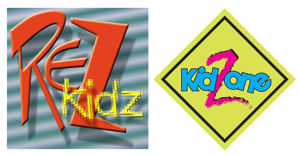 Rez Kidz and Kid Zone Logos - Envisionary Images