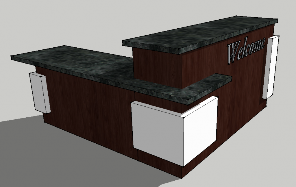 Envisionary Images Church Welcome Center Furniture And Retail Kiosks
