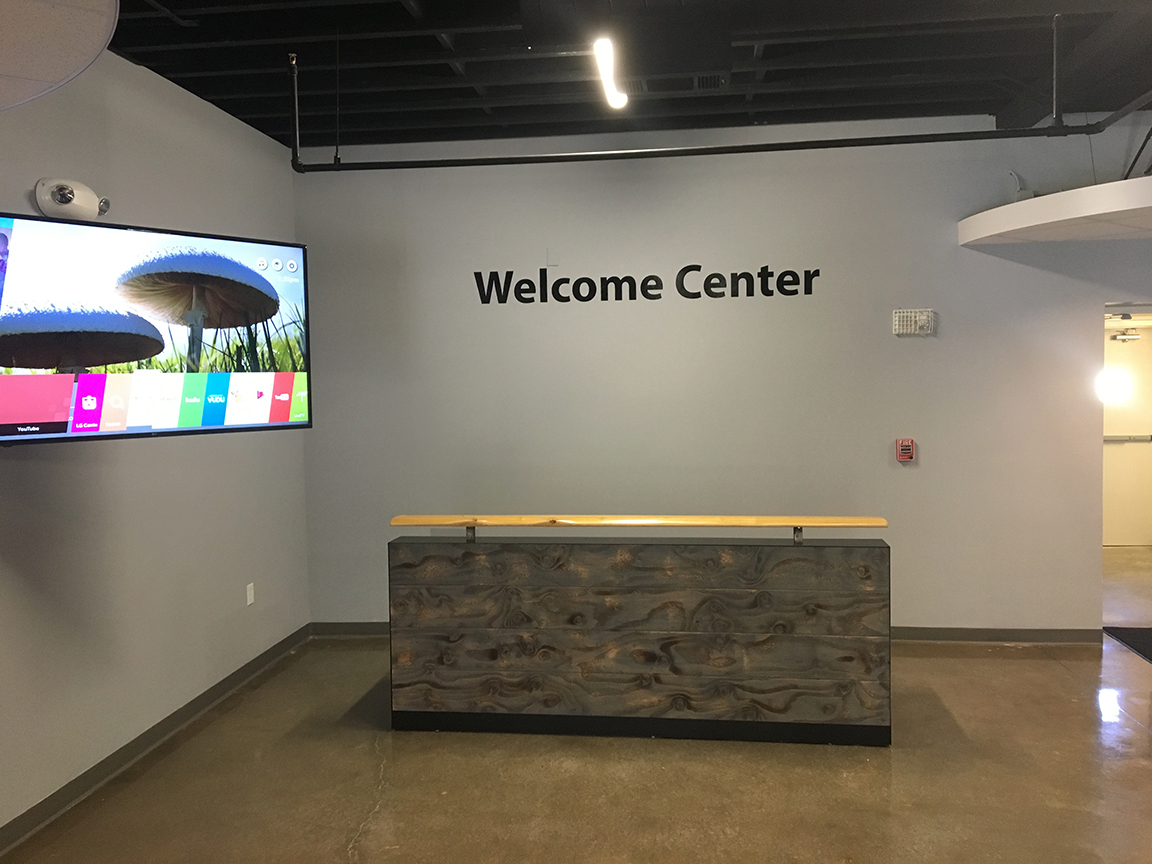 Distressed Wood Welcome Center Envisionary Images