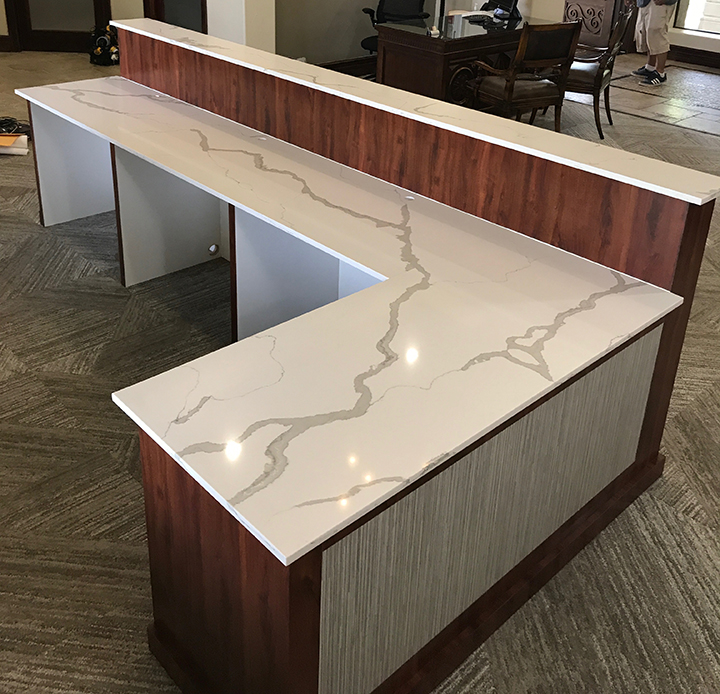 Hotel reception, welcome desk, church welcome desk, church welcome, reception desk