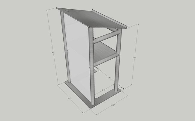 pulpit, podium, lectern, truss podium, truss pulpit, aluminum pulpit, cool pulpit, aluminum lectern, aluminum podium, truss pulpit, truss podium, truss lectern