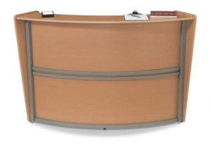 Single 69.5 Inch x 33.5 Inch Welcome Desk