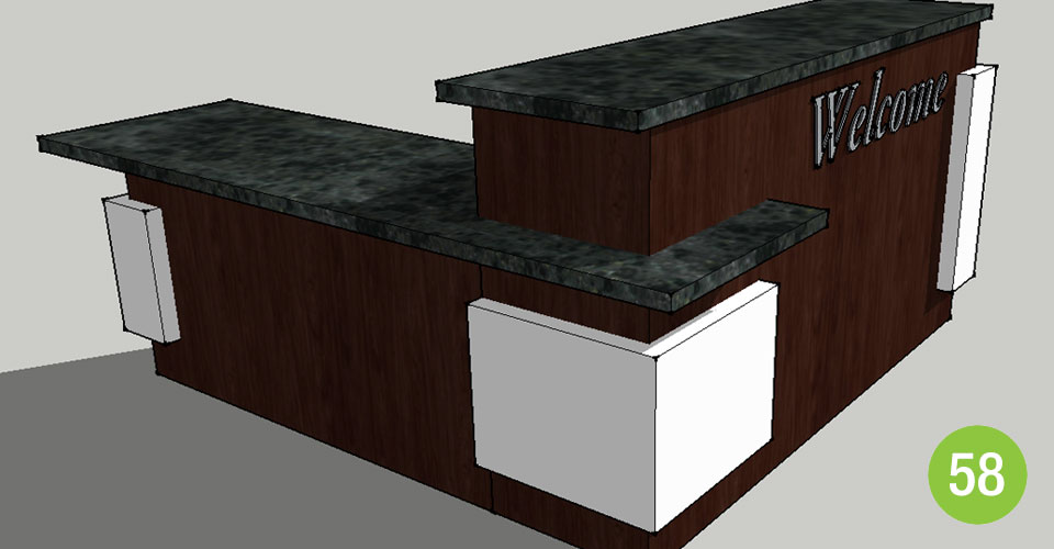 L-ShapedCustomReceptionDesk